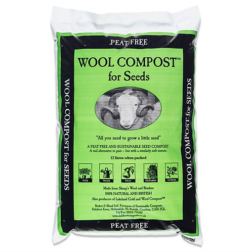 Dalefoot Wool compost for  seeds- Soil Associstion approved