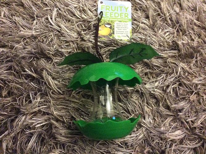 Apple Fruity  bird feeder fun shape