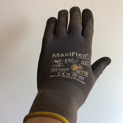 Maxiflex Ultimate palm coated garden gloves