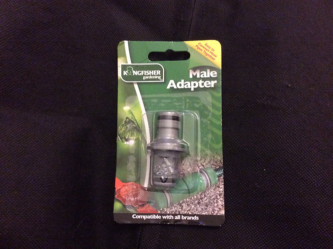 Kingfisher Male Adapter ideal for standard taps