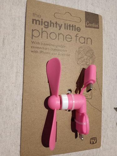 The mighty little phone fan plug in.