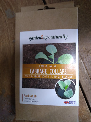 20 Gardening Naturally Cabbage Collars