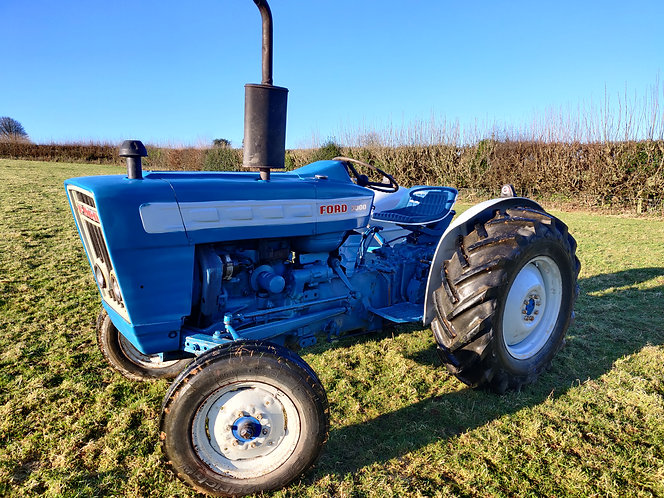 Ford 3000 classic vintage tractor