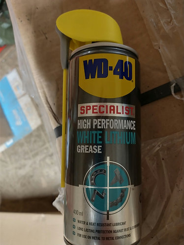 WD- 40 White Lithium grease hi performance