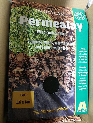 Permealay weed control fabric 6 m x 1.6 m