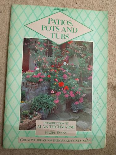 Patios, Pots and Tubs  book
