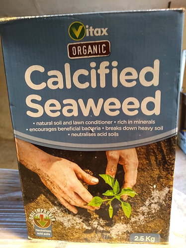 Calcified Seaweed natural soil and lawn conditioaner