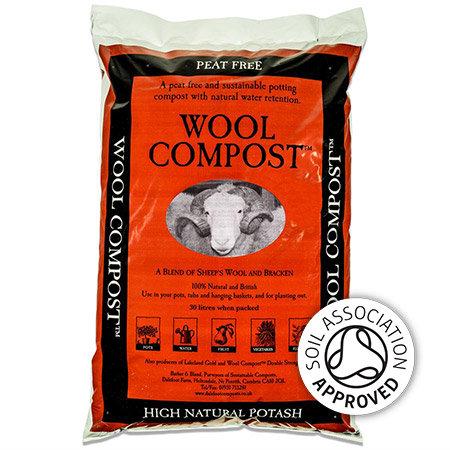 Dalefoot wool based peat free potting compost