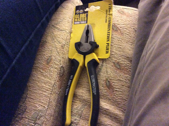Home and garden combination 7 inch pliers