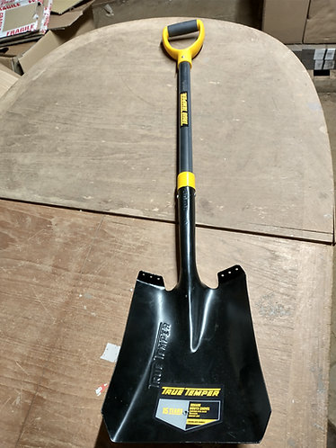 True Temper Square Mouth Shovel FG handle
