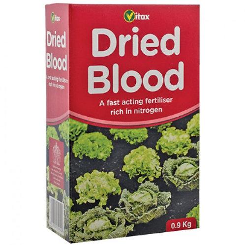 Dried Blood fertiliser 0.9 kg