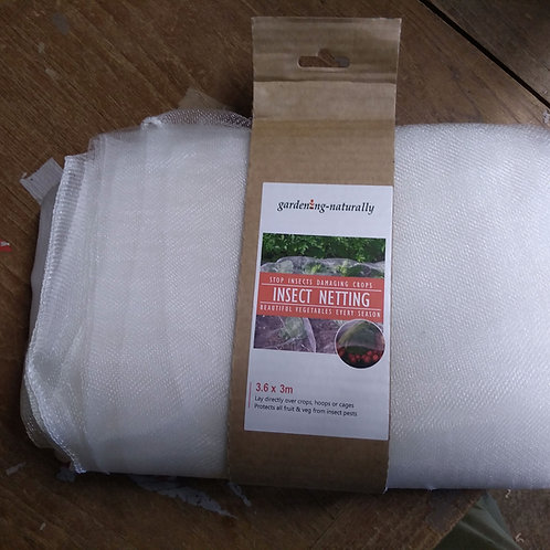 Insect Netting protect fruit and veg 3.6 x 3m