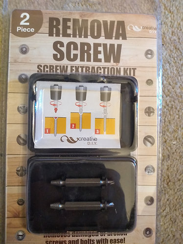 Remova Screw extraction kit for screws and bolts
