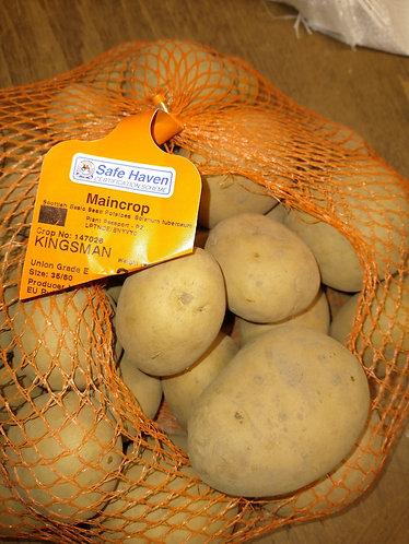 Kingsman main crop seed potato.