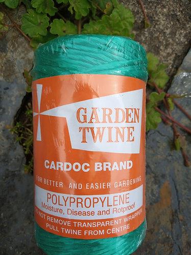 Green poly garden twine 100g  spool