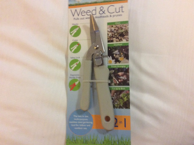 Weed and Cut 2in 1  multi purpose tool