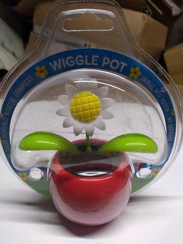 Wiggle flower pot flowers