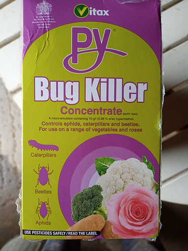 PY Caterpillar, Flea Beetle and bug killer