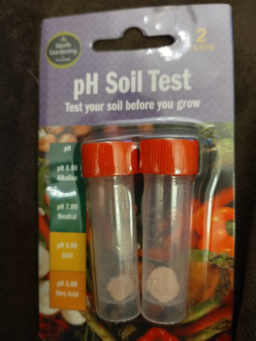 pH Soil Test  - test your soil before you grow.
