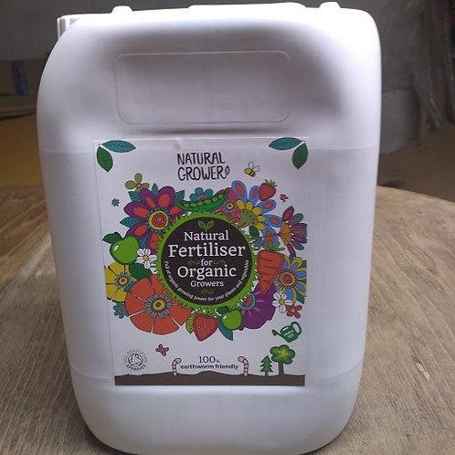 Natual Grower  pure plant nourishment organic liquid fertiliser