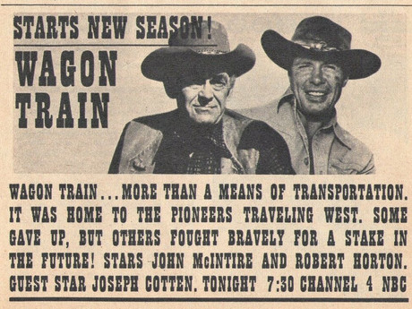 """TV: """"Wagon Train"""" to Move from NBC to ABC"""