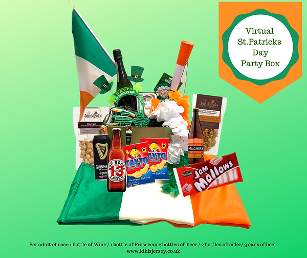 St.Patrick's day Party at home box hamper