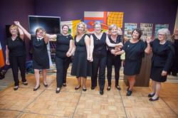 Irish Ceili dancers 2016