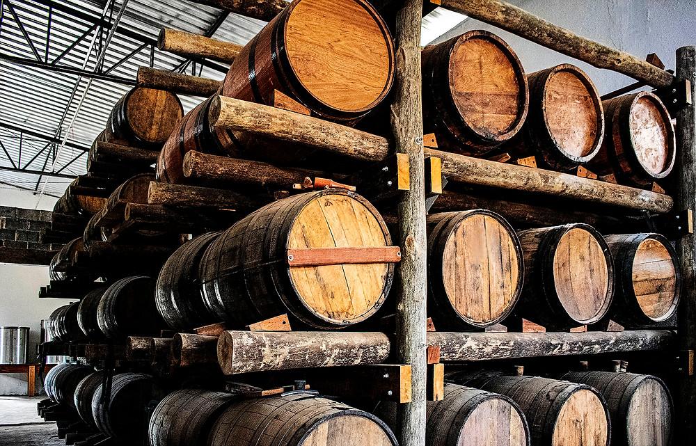 barris barril carvalho americano maturação envelhecimento cachaça marc tennessee whiskey jack daniels