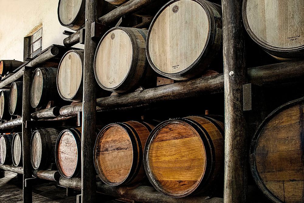 barris barril carvalho americano envelhecimento maturação cachaça marc