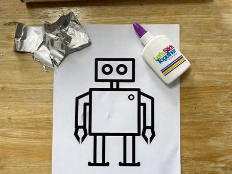 Ρομπότ από αλουμινόχαρτο
