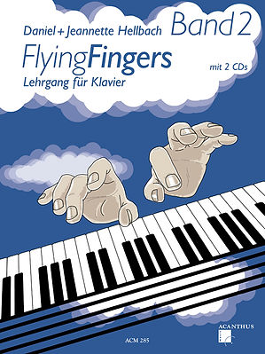 Flying Fingers Book Frontpage
