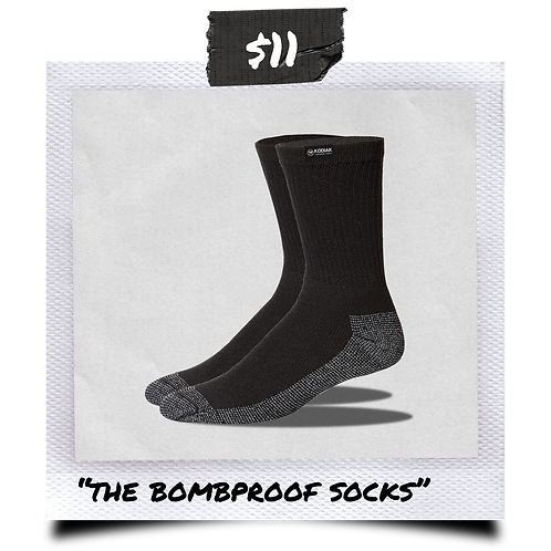 The Bombproof Socks
