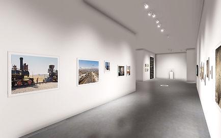 screenshot of virutal exhibition