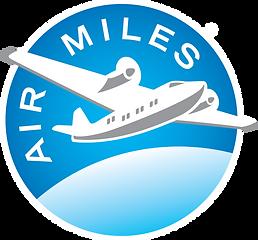 AIRMILES - Full Blue - Reversed (Primary