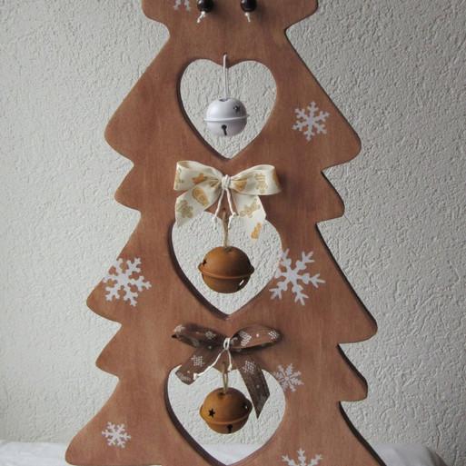 Sapin de Noël, Décos brunes
