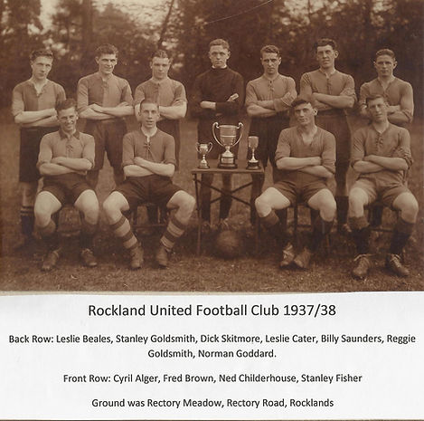 Rockland United Football Club 1937/38