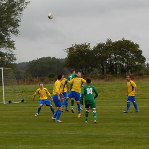 1st team vs. Billingford