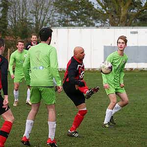 1st team vs. Norwich Medics