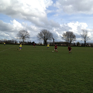 1st team vs. Thetford