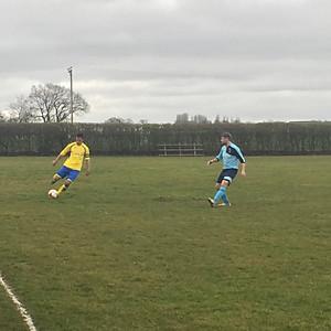 1st team vs. Morley Village