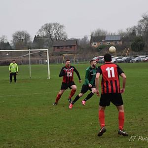 1st team vs. Longham