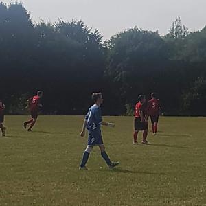 Gressenhall vs. 1st team