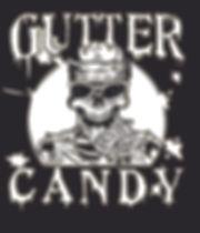 Skull Candy Splatter one color on black.
