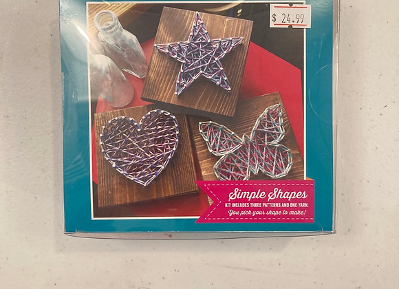 Strung By Shawna DIY String Art Kit Simple Shapes