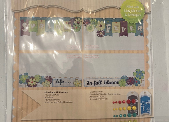 Quick Quotes Premier Altered Kit Border Panels Spring