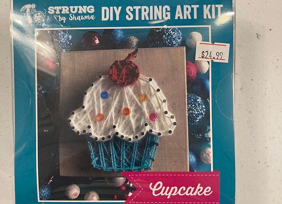 Strung By Shawna DIY String Art Kit Cupcake