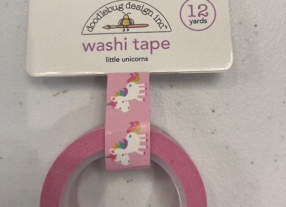 Doodlebug Design Inc Little Unicorns Washi Tape