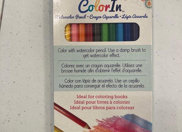 Marvy ColorIn Watercolor Pencil Set