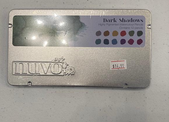 Elementary Midtones Watercolour Pencils Dark Shadows