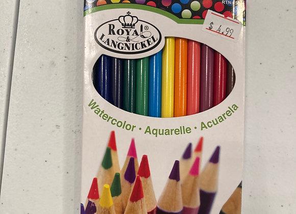 Royal Langnickel Watercolor Pencil Set
